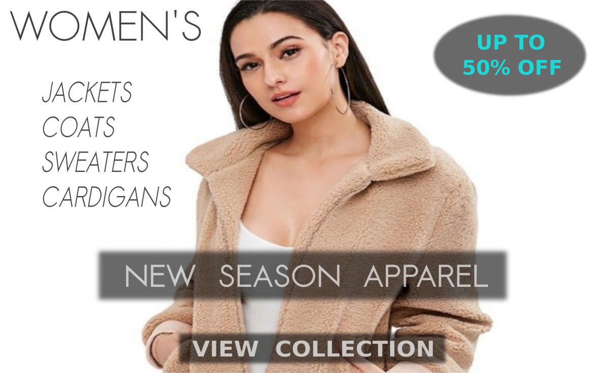 Latest Winter Fashion Trends - Warm Apparel, Sweaters, Cardigans, Jackets, Coats, Hoodies And Knitted Clothes For Women At Cheapest Price With Handsome Deals And Discounts