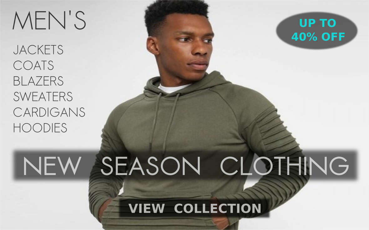 Buy New Fashion Warm Winter Apparel, Clothes, Jackets, Coats, Hoodies, Parkas, Sweaters, Cardigans, Sweatshirts, Pullovers And Winter Outwear For Men At Shopperwear Fashion With Mouth Watering Deals And Discounts