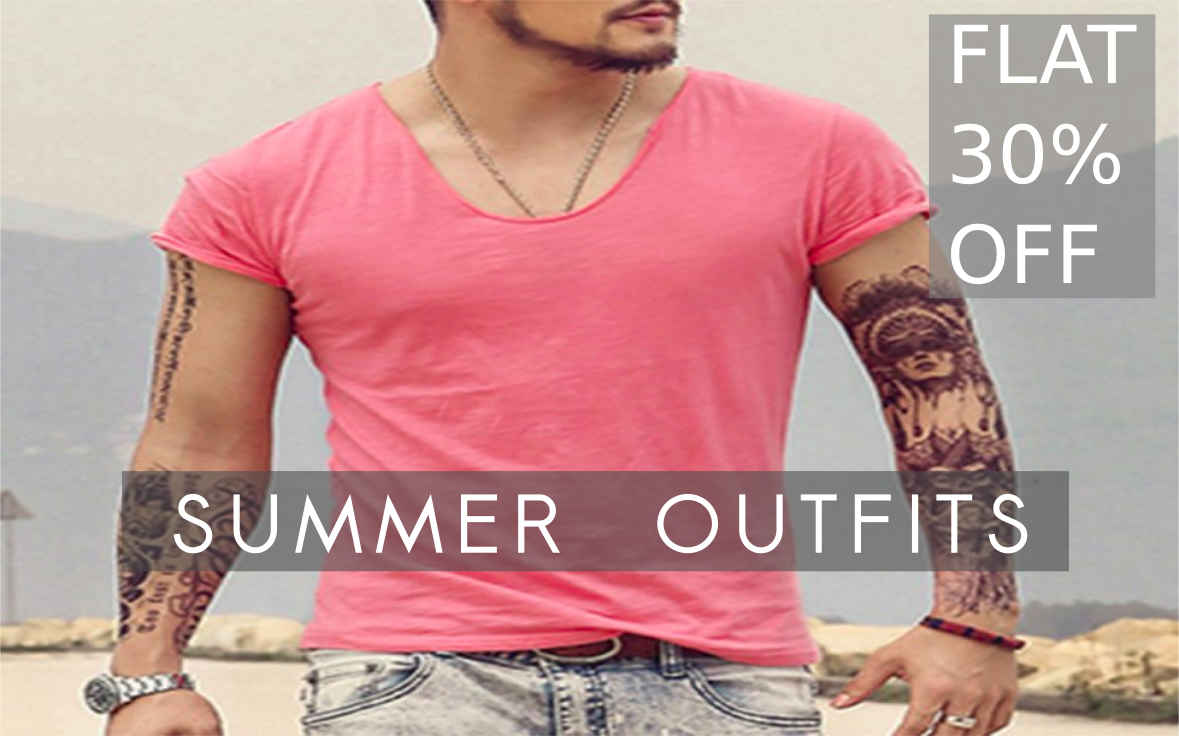 New Fashion Apparel, Clothes, Tops, Tees, Shirts And Summer Style Outfits For Men Best Online Shopping