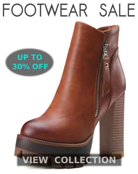 New Arrival Winter Footwear, Shoes, Boots, Ankle Boots, Knee High Boots, Casual Shoes, Leather Shoes, Warm Fur Footwear, Winter Flip Flops, Pumps And Snow Boots For Women At Best Deals And Discounts Of Up To 30% Off