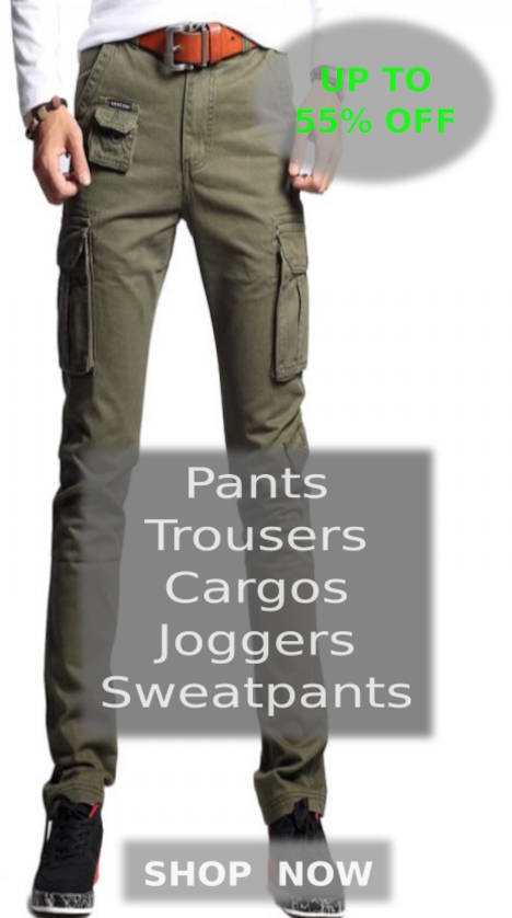 Buy Fresh Collection Of Summer Pants, Trousers, Shorts, Trunks, Cargo Pants, Sweatpants, Cotton Trousers, Gym Trousers, Workout Outfits, Tactical Pants, Joggers And Military Pants For Men At Big Summer Sale Of Up To 50% Off This Season On Shopperwear Fashion