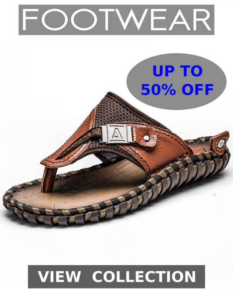 Buy New Season Summer Footwear, Sandals, Beach Shoes, Flip Flops, Slippers, Sneakers, Gym Shoes, Street Style Sneakers, Boots, Leather Shoes, Clogs, Summer Loafers And Breathable Sandals For Boys On Shopperwear Fashion
