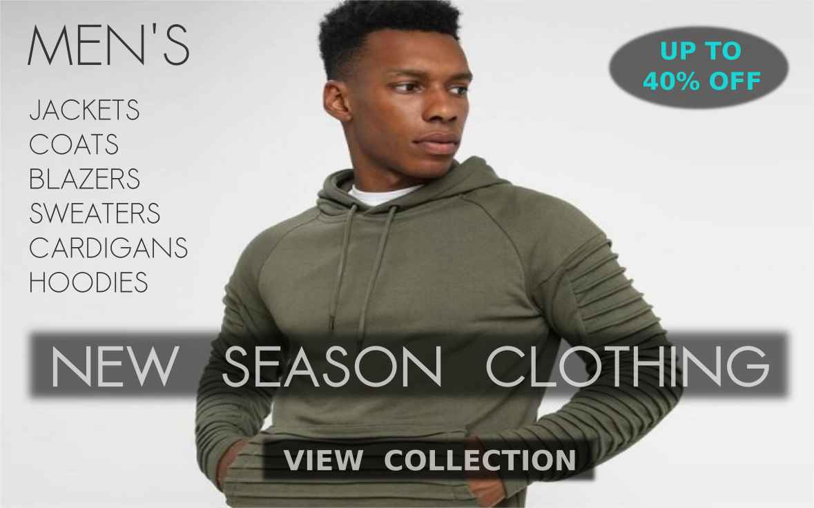 Buy Fresh Collection Of Warm Autumn Winter Clothing, Dresses, Jackets, Coats, Blazers, Sweaters, Cardigans, Hoodies, Fur Coats, Denim Jackets, Jeans Pants, Warm Trousers, Wool Outfit, Knitted Clothing, Sweatshirts, Pullovers, Parka Jackets, Windproof Coats, Leather Jackets And Winter Outwear For Men At Shopperwear Fashion With Mouth Watering Deals And Discounts Of Up To 40% Off
