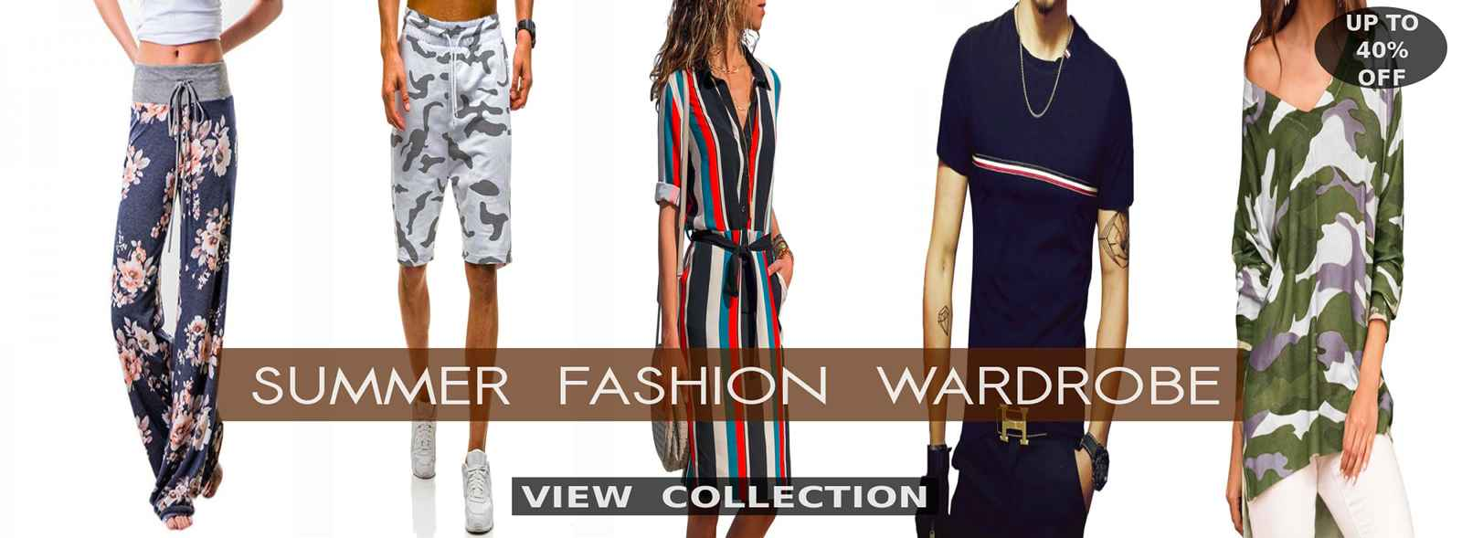 New Arrival Cool Summer Dresses, Mini Dresses, Rompers, Tops, Tees, T Shirts, Blouses, Maxi Dresses, Casual Summer Clothing, Shorts, Skirts, Shirts, Trousers, Cotton Pants, Denims, Jeans, Swimsuits, Bikinis And Sexy Beach Outfits For Men And Women This 2020 At Best Deals And Discounts Of Up To 30% Off