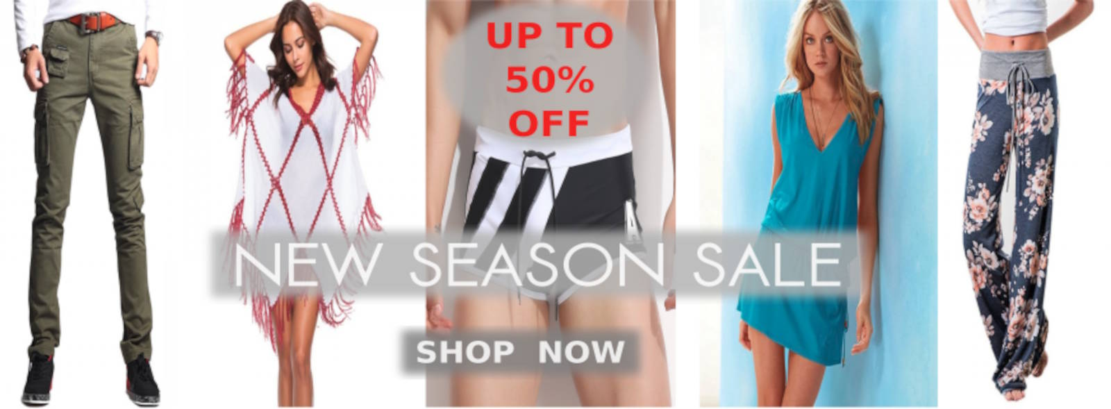 Buy New Arrival Clothing, Pants, Trousers, Tops, Tees, T-Shirts, Blouses, Dresses, Mini Dress, Maxis, Rompers, Swimsuits, Bikinis, Shirts, Shorts And Cool Summer Apparel For Men And Women At Cheapest Price With Discounts Of Up To 50% Off At Shopperwear Fashion