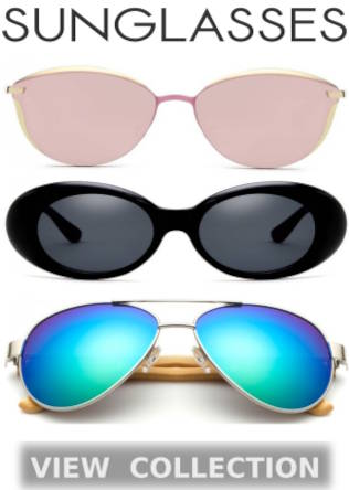 Buy Top Quality Stylish Polarized Sunglasses, Modern Eyeglasses, Comfortable Spectacles, UV400 Lenses, Cat Eye And Aviator Sunglasses For Men And Women At Best Deals And Discounts Of Up To 50% Off On Shopperwear Fashion