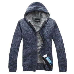 2018 New Men Warm Sweatshirts Autumn Cardigan Hooded With Zipper For Man High Quality Mens Outwear