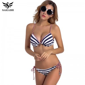 2018 Sexy Bandage Bikini Push Up Swimwear Women Brazilian Bikini Set Bathing Suit Underwire Swimsuit Summer