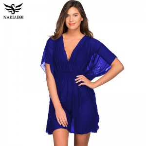 2019 Pareo Beach Cover Up Mesh Bikini Cover Up Swimwear Women Robe De Plage Swimsuit Beach Bathing Cover Ups