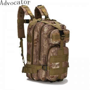 Advocator Large Capacity Military Travel Backpack Waterproof Nylon For Men Thumbnail