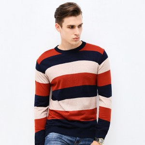 Autumn Winter Fashion Brand Clothing Mens Sweaters O Neck Slim Fit Men Pullover Thin Jacquard Knitted Sweater Men