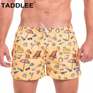Beach Volleyball Boardshorts Surfing Swim Boxer Trunks Shorts Bermuda Short Bottoms Quick Drying Swimwear Swimsuits