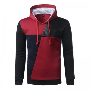 Best Hoodie Hit Color Leather Casual Hoodies Men Fashion Tracksuit Male Sweatshirt Off White Hoody Mens Purpose Tour