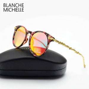 Blanche Michelle Sunglasses Luxury Anti UV Sunglasses High Quality Trendy Photochromic Shades For Women