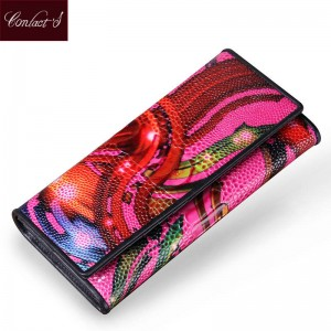 Brand New Design Women Wallets Vintage Portfolio Purse Long Clutch Handbags For Women Thumbnail