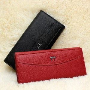 Brand New Genuine High Quality Leather Wallet For Women Coin Holder Small Purse For Ladies Thumbnail