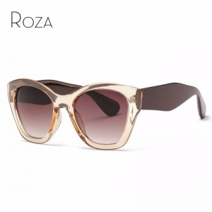 Butterfly Sunglasses High Quality Vintage Eyewear Latest Designer Sun Shades For Female UV400 Lens