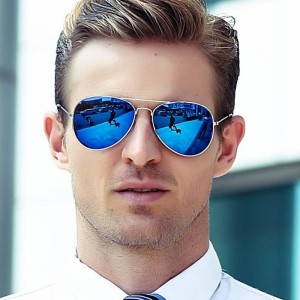 Classic Aviation Sunglasses Men Sunglasses Women Driving Mirror Male and Female Sun glasses Points Pilot Glasses