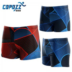 Copozz New Breathable Swimsuit Boxer Diving Trunk Briefs Hot Men Thumbnail