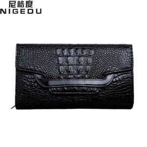 Crocodile Clutch Purse Luxury Party Evening Bags Patent Leather Shoulder Bags Messenger Bags Clutches Women Thumbnail