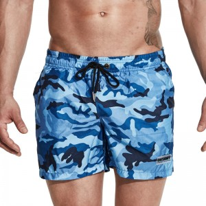 Desmiit Swimwear For Men New 2018 Swimming Shorts Men Surf Swim Shorts Beach Trunks Camouflage Design