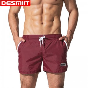 Desmiit Swimwear Mens Swimming Shorts Quick Dry Light Thin Swimsuit Man Swim Trunks Beach Wear Shorts 2018