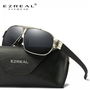 EZREAL Polarized Sunglasses Men Sun Glasses Women Male Oversized For Driving Shades Oculos De Sol Masculino With Box