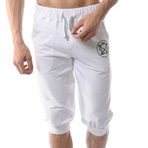 Fashion Brand Short Summer Men Beach Cotton Sweatpants Casual Wear Men Thumbnail