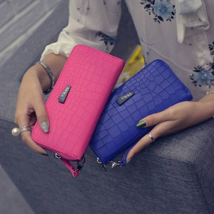 Fashion Women Clutch Pu Leather Best Quality Cardholder Purse For Women Thumbnail