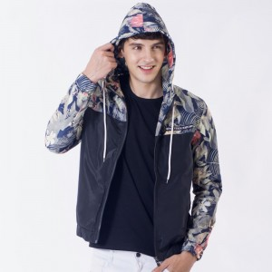 Flower Printed New Jacket Men Fashion Casual Loose Outwear Mens Jacket Sportswear Bomber Jacket Mens jackets and Coats