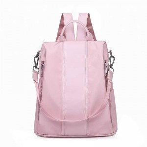 Fresh Multifunction Women Backpack Fashion Ladies Solid Shoulder Bag Rucksack Schoolbags Female Travel Handbags