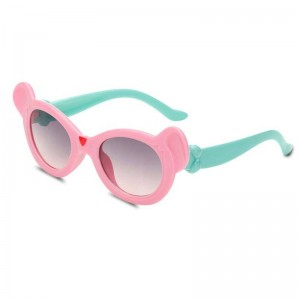 Girls Cartoon Sunglasses Sun Shades Protective Kids Eyewear Fashionable Trending Polarized Children Shades