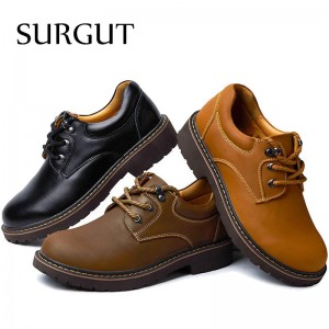 Handmade Breathable Mens Oxford Shoes Top Quality Dress Shoes Men Flats Fashion Genuine Leather Casual Shoes Men