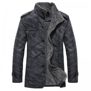 HEE GRAND Men PU  Leather Jackets And Coats New Arrival Winter Thick Casual Jaqueta Masculino Plus Size 2 Colors