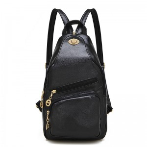 High Quality Casual Women Leather Backpacks Genuine Leather Cowhide Multi Function Shoulder Bags Thumbnail