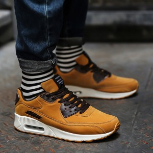 High Quality Mens Casual Footwear Comfortable Breathable Air Flock Super Light Shoes Sports Fitness Footwear