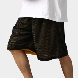 High Quality Reversible Casual Shorts Summer Breathable Sporting Basketball Thumbnail