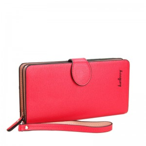 Hot Sale Fashion Women Wallets Pu Leather Zipper Soft Wallet Ladies Long Clutch Purse Women Thumbnail