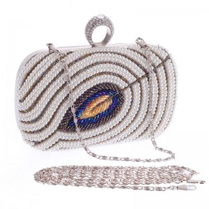 Hot Style Women Day Clutch High Quality Handmade Wedding Party Handbags Clutches Banquet Evening Clutches Thumbnail