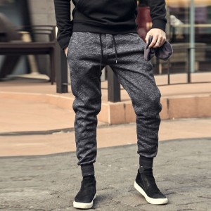 Joggers men Top quality brand clothing casual pants men male sweatpants trousers Dark Grey men solid autumn winter