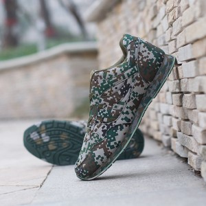 Large Desert Digital Camouflage Military Shoes Breathable Extra Large Size Men Size Casual Camo Shoes Sports Footwear