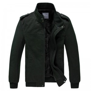 Men Autumn Winter Jacket  Slim Style Casual Jacket 2 Colors M XXXL Lining Warm Outwear High Quality Mens Outwear