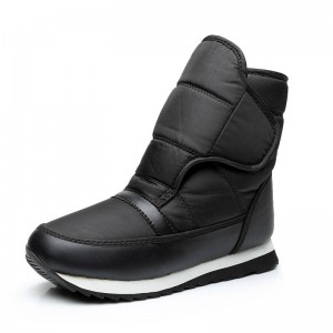 Men Boots Thickened Thermal Waterproof Snow Cotton Boots Outdoor Non Slip Men Thumbnail