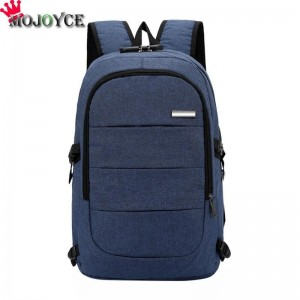 Men Casual Laptop Backpack Handbag USB Charging Shoulder Backpack Business Travel Knapsack Rucksack Backpack