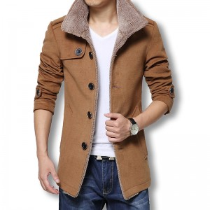 Men Long Wool Coat Winter Men Jackets And Coats Slim Fit Men Windbreaker High Quality Trench Coat Plus Size Hot Sale