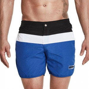 Men Surf Swimming Shorts for Men Swim Wear Board Short Beach Trunks 2018 Summer Zipper Closure Leisure Swimsuit