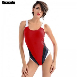New Arrival Women One Piece Swimsuit Sports Swimming Bikini Backless Bathing Suit For Women Sports Beach Suits Thumbnail