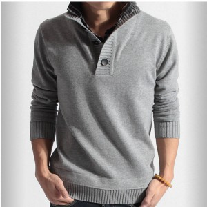 New Autumn Summer Skinny Sweater Sweatshirt Top Quality Latest Design Men Thumbnail
