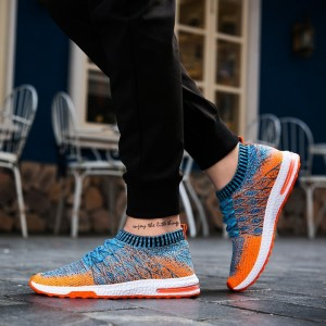 New Breathable Mesh Summer Men Casual Shoes Slip On Male Fashion Footwear Walking Unisex Couples Shoes Mens
