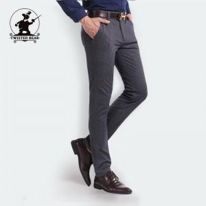 New Business Casual Pants Designer Stretch Chino Design Trousers For Men Thumbnail